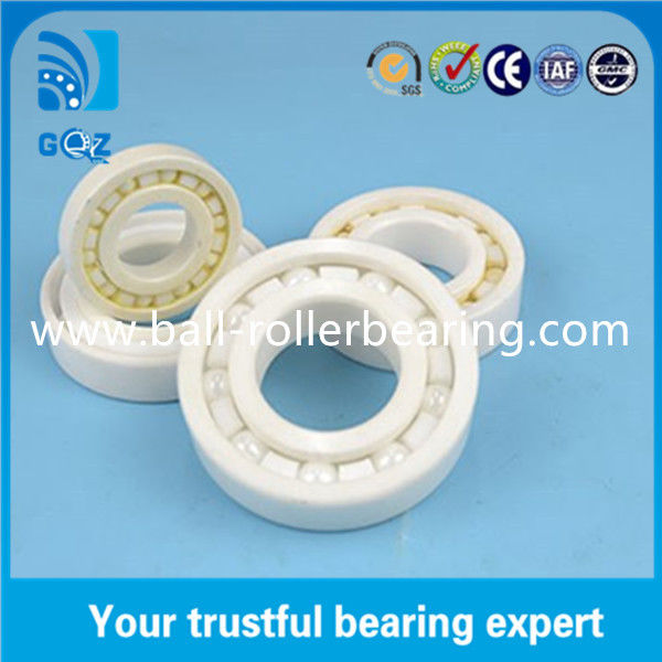 Small Single Row Full Ceramic Engine Bearings ISO9001 Certification