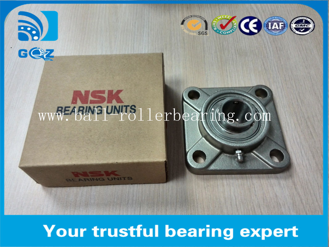 Plastic UCF209 Long Durability Pillow Block Ball Bearings Shaft Size 45mm