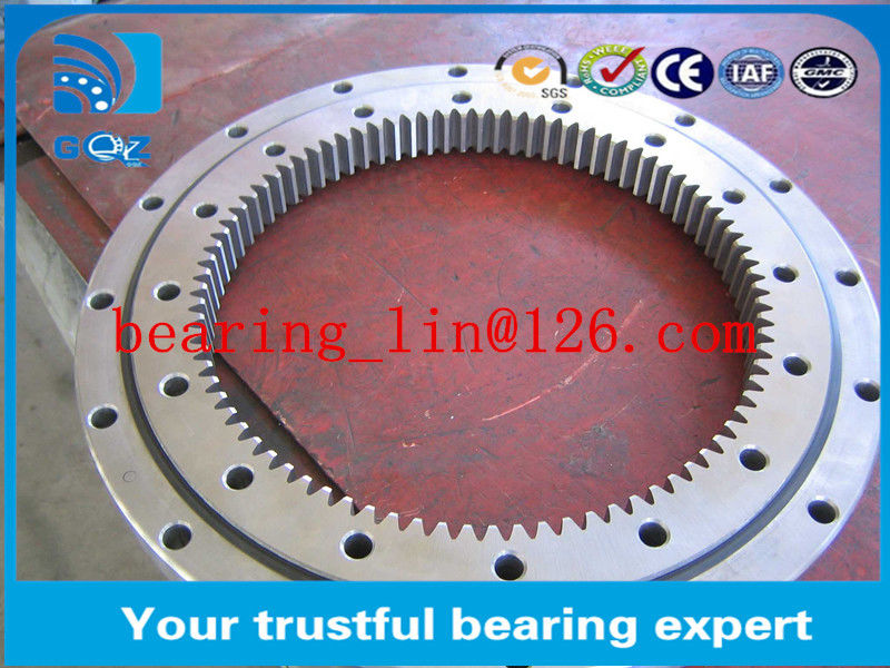 4 Point Contact Thin Section Ball Bearing for wind turbine drives , Precision ball bearing