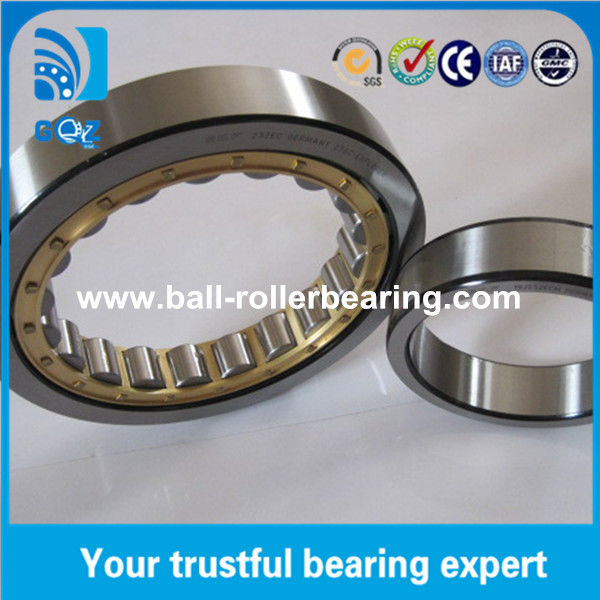Brass Cage Cylindrical Single Row Roller Bearing N232 NF232 ISO9001 Certification