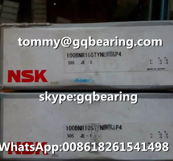 NSK 100BNR10STYNDBBLP4 Light Preload Thrust Angular Contact Ball Bearing