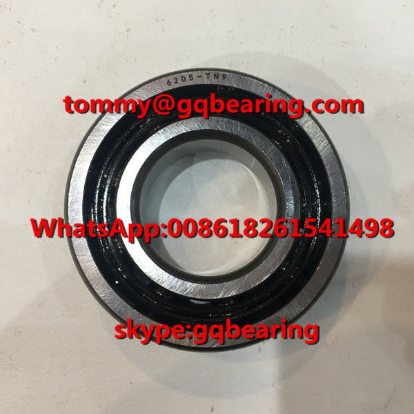 C3 C4 Clearance 6205TN9 Nylon Cage Gcr15 Steel Material Deep Groove Ball Bearing
