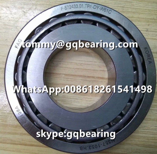 Chrome steel Material FAG F-572433.01 F-572433.01.TR1-DY-W61C Tapered Roller Bearing