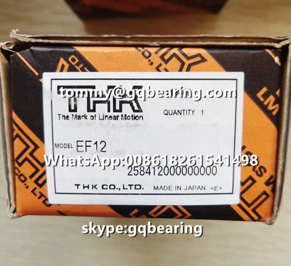 CNC Machine Application THK EF15 Square type Ball Screw Support Slide Units