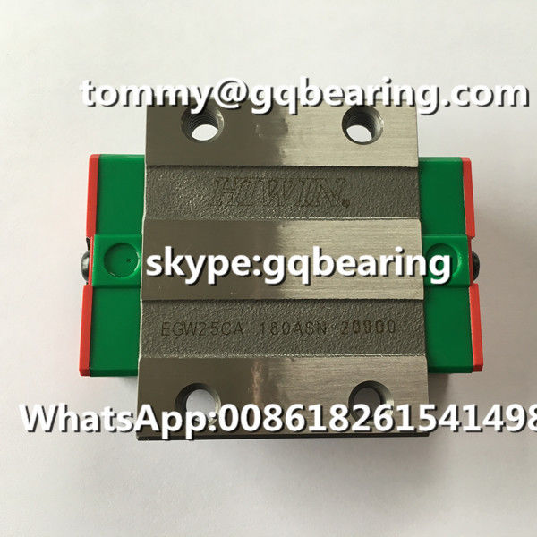 Hiwin EGW25CA Guide Rail Block EGW25CA Linear Motion Ball Bearing EGW25CA Linear Slide Bearing